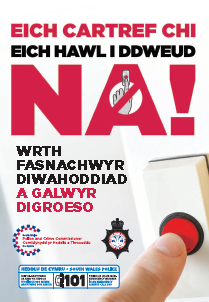 Cover of booklet Welsh