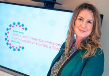 Deputy Police & Crime Commissioner Sophie Howe