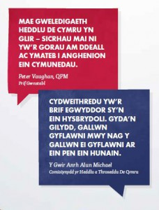 Speech bubbles (Welsh)